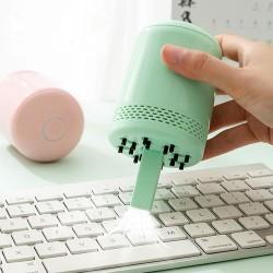 USB充電桌面吸塵器