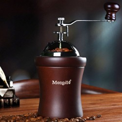 Mongdio 寶木圓頂手搖咖啡磨豆機