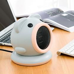 Guoxin 小豬旋轉電暖風機